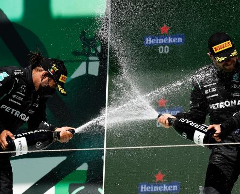 F1 Podium - Ferrari Trento - Celebration F1 Circuit Bottle